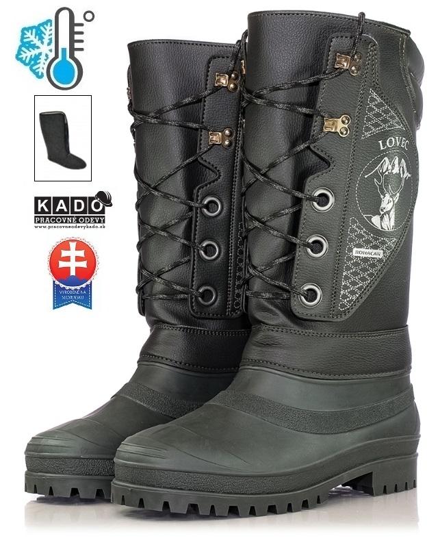 Pracovná obuv - zateplené čižmy LOVEC ROHÁČAN empty eb454c085a1