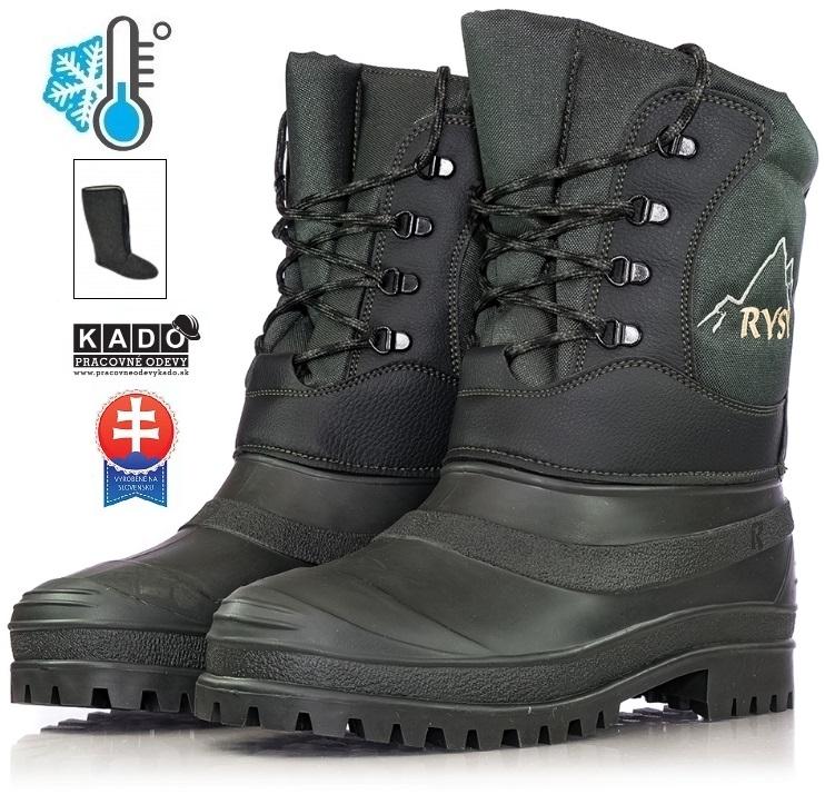 Pracovná obuv - Zateplené Čižmy RYSY ROHÁČAN empty edfec7e3172